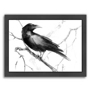 Americanflat 'Raven' Framed Wall Art