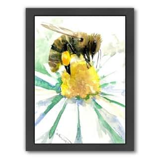 Americanflat 'Honey Bee 2' Framed Wall Art