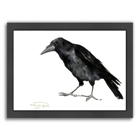 Americanflat 'Crow' Framed Wall Art