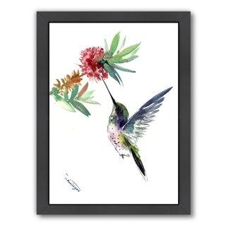 Americanflat 'Hummingbird' Framed Wall Art