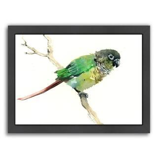Americanflat 'Conure Parakeet Parrot' Framed Wall Art