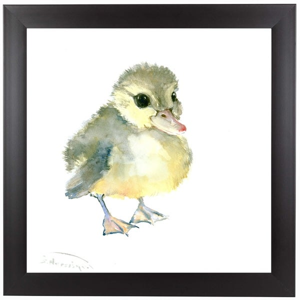 Americanflat \'Baby Duck\' Framed Wall Art - Free Shipping On Orders ...