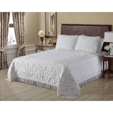 Gayal Chenille Bedpsread