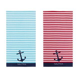 Nautica Bayside Beach Towel (Set of 2)