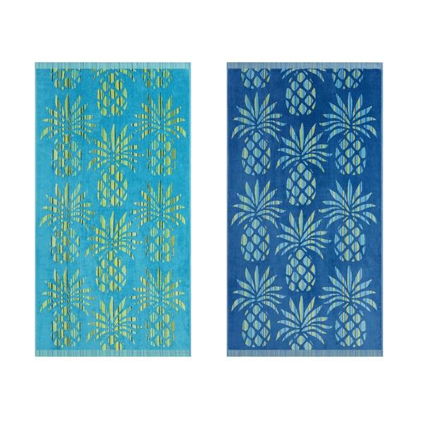 Tommy Bahama Bathroom Towels: Shop Tommy Bahama Pineapple Striple Beach Towel (Set Of 2