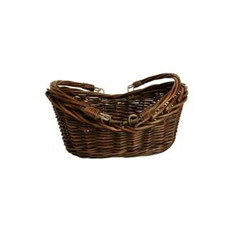 """13.5"""" Dark Willow Basket"""