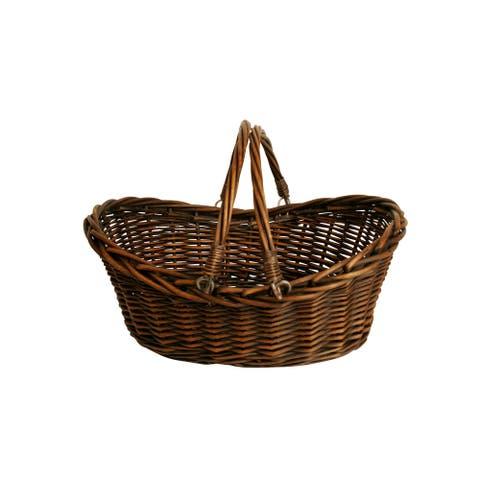 """17"""" Dark Willow Basket"""