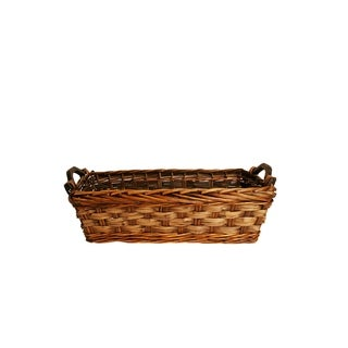 """13"""" Carved Willow Basket"""