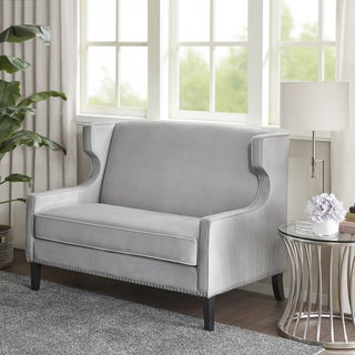 Madison Park Abbott Grey Settee