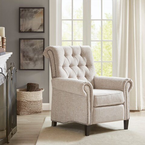 Madison Park Jetta Cream Recliner Chair