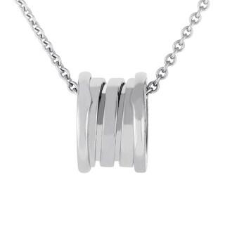 Bvlgari B.ZERO1 White Gold Pendant Necklace