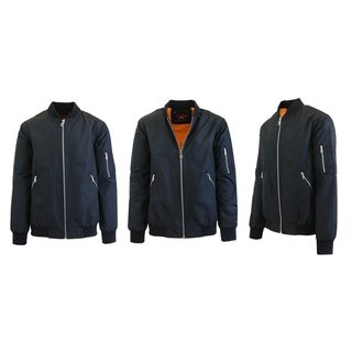 Link to Spire by Galaxy Men's Lightweight MA-1 Bomber Flight Jacket Similar Items in Men's Outerwear