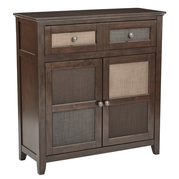 Home Depot Cabinets Review: Shop OSP Home Furnishings Bramley Hall Storage Cabinet In