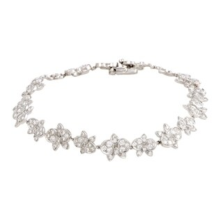 Cartier Caresse d'Orchidees White Gold Diamond Bracelet