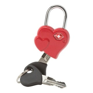 Heart Shaped Luggage Lock TSA Approved