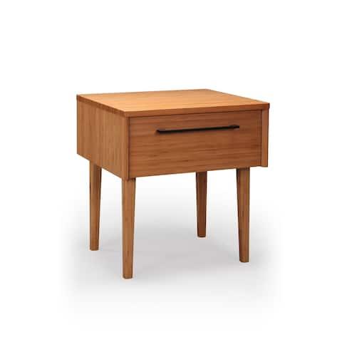 Greenington G0092CA Sienna 1 Drawer Nightstand, Caramelized