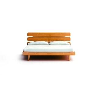 Greenington Currant Eastern Bamboo Caramelized Finish King Platform Bed