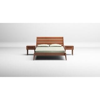 Greenington Caramelized Sienna Eastern King Platform Bed