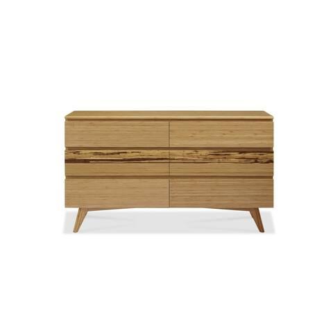 Greenington GA0005CA Azara Six Drawer Double Dresser, Caramelized