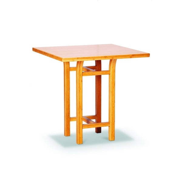 Shop Greenington G0018 Tulip Bar Height Table Caramelized
