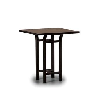 Greenington G0018BL Tulip Bar Height Table, Black Walnut