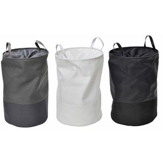Evideco Pop-Up Collapsible Laundry Hamper with Closing Mesh