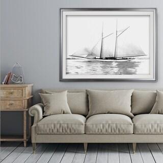 Sailing Yacht I - Premium Framed Print