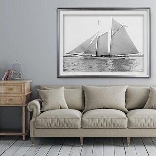 Sailing Yacht VII - Premium Framed Print