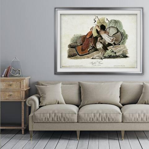 Aviary Drawing V - Premium Framed Print