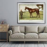 Equine Drawing II - Premium Framed Print