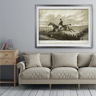 Equine Sketch XXXI - Premium Framed Print