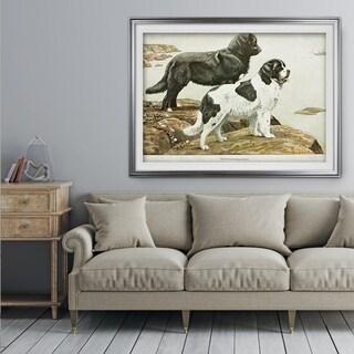 Canine Sketch XXVI - Premium Framed Print