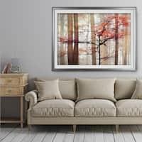 Orange Awakening - Premium Framed Print