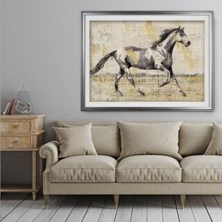 Golden Stallion I - Premium Framed Print