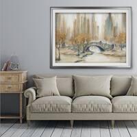 Central Park - Premium Framed Print