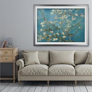 Almond-Blossom -by Van Gogh - Premium Framed Print