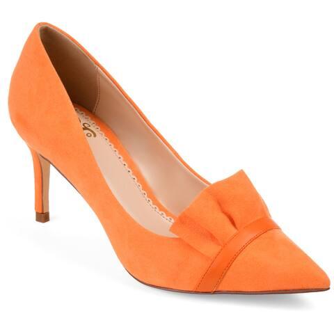 99e2cba22c5c4 Buy Orange Women's Heels Online at Overstock   Our Best Women's ...