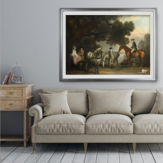Melbourne-Families -George-Stubbs - Premium Framed Print (3 options available)
