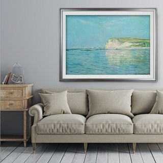 Low-Tide -Claude Monet - Premium Framed Print