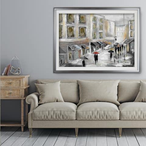 Sunday Market - Premium Framed Print