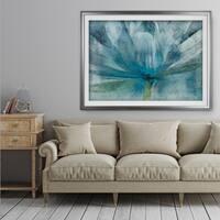 Blue Awakening - Premium Framed Print
