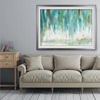 Rainwashed Landscape - Premium Framed Print