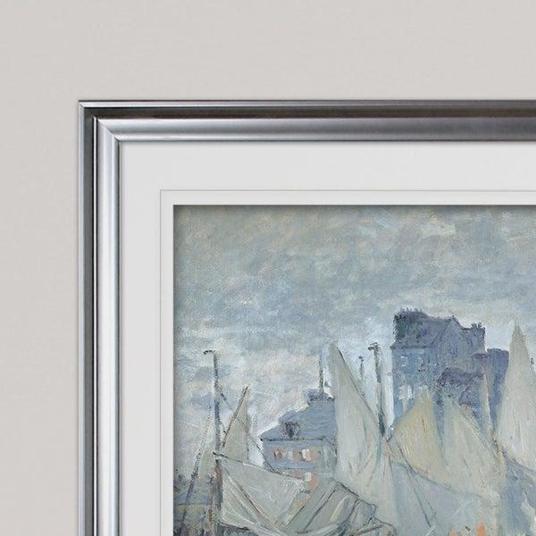 Claude Monet The Museum Le Havre  Art Canvas Print