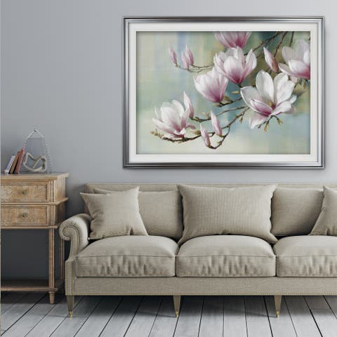 Magnolia Morning - Premium Framed Print