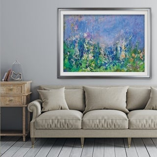 Lavender-Fields-Gallery -Claude Monet - Premium Framed Print