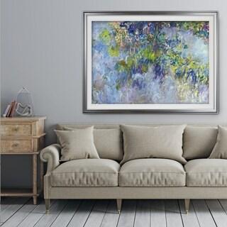 Wisteria -Claude Monet - Premium Framed Print