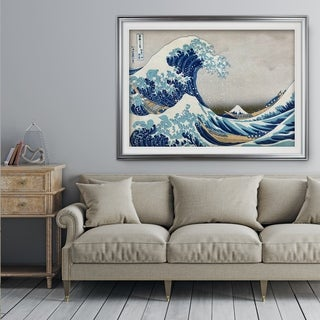 The-Great-Wave -by Katsushika Hokusai - Premium Framed Print
