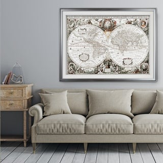 Treasue Map - Premium Framed Print