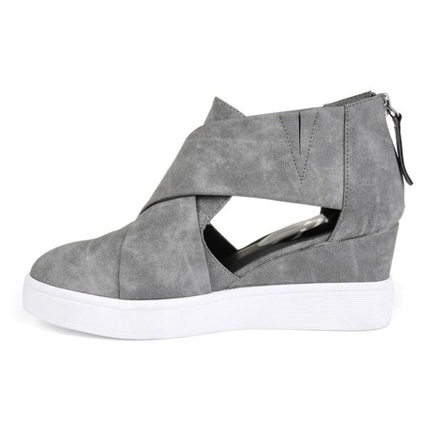 D'orsay Sneaker Wedges