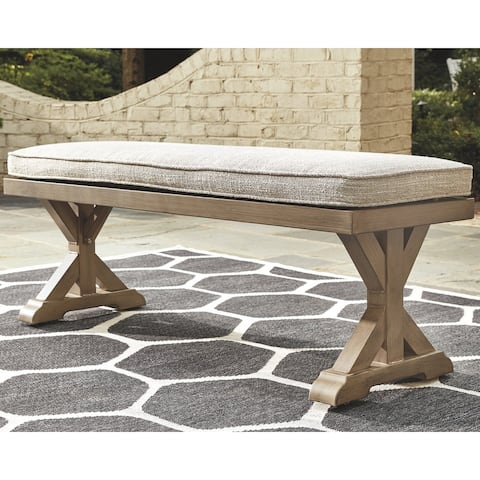 Sandestria Bench with Cushion by Havenside Home